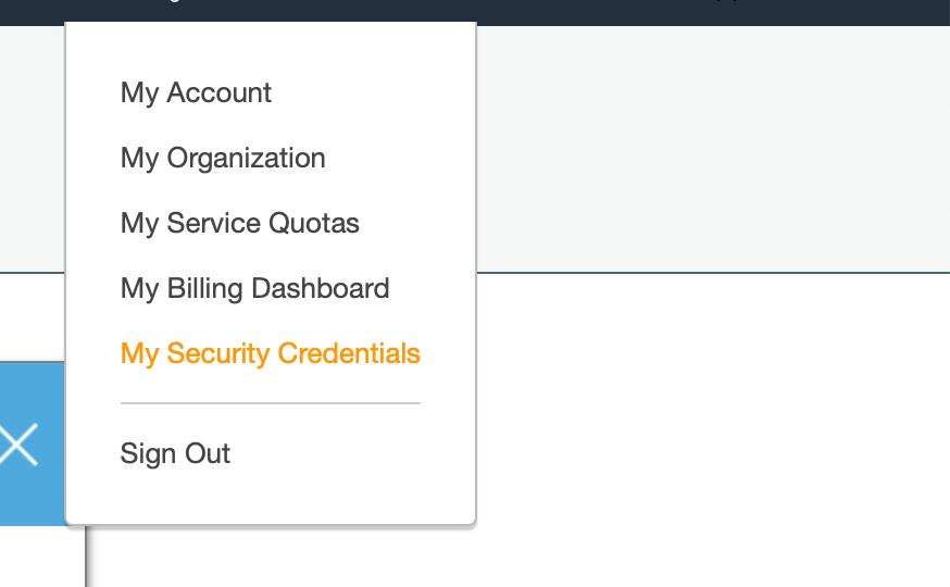 Sécurité du compte