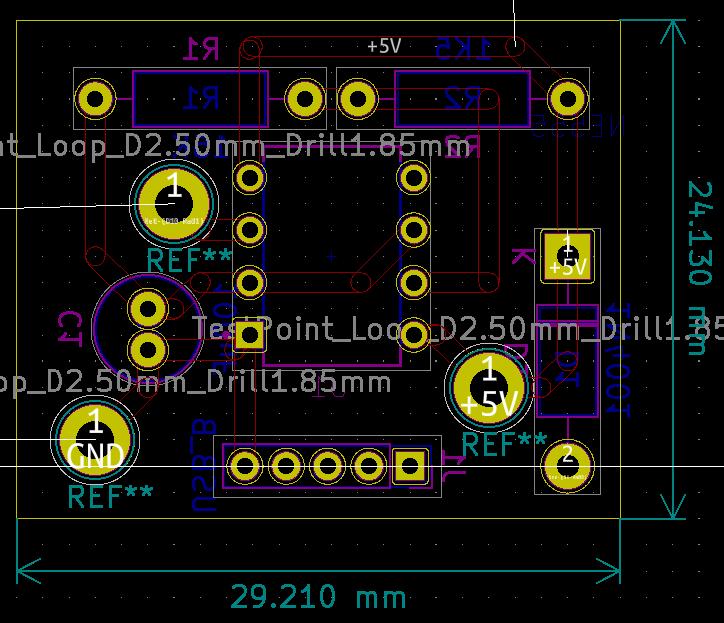 PCB Groupe LED