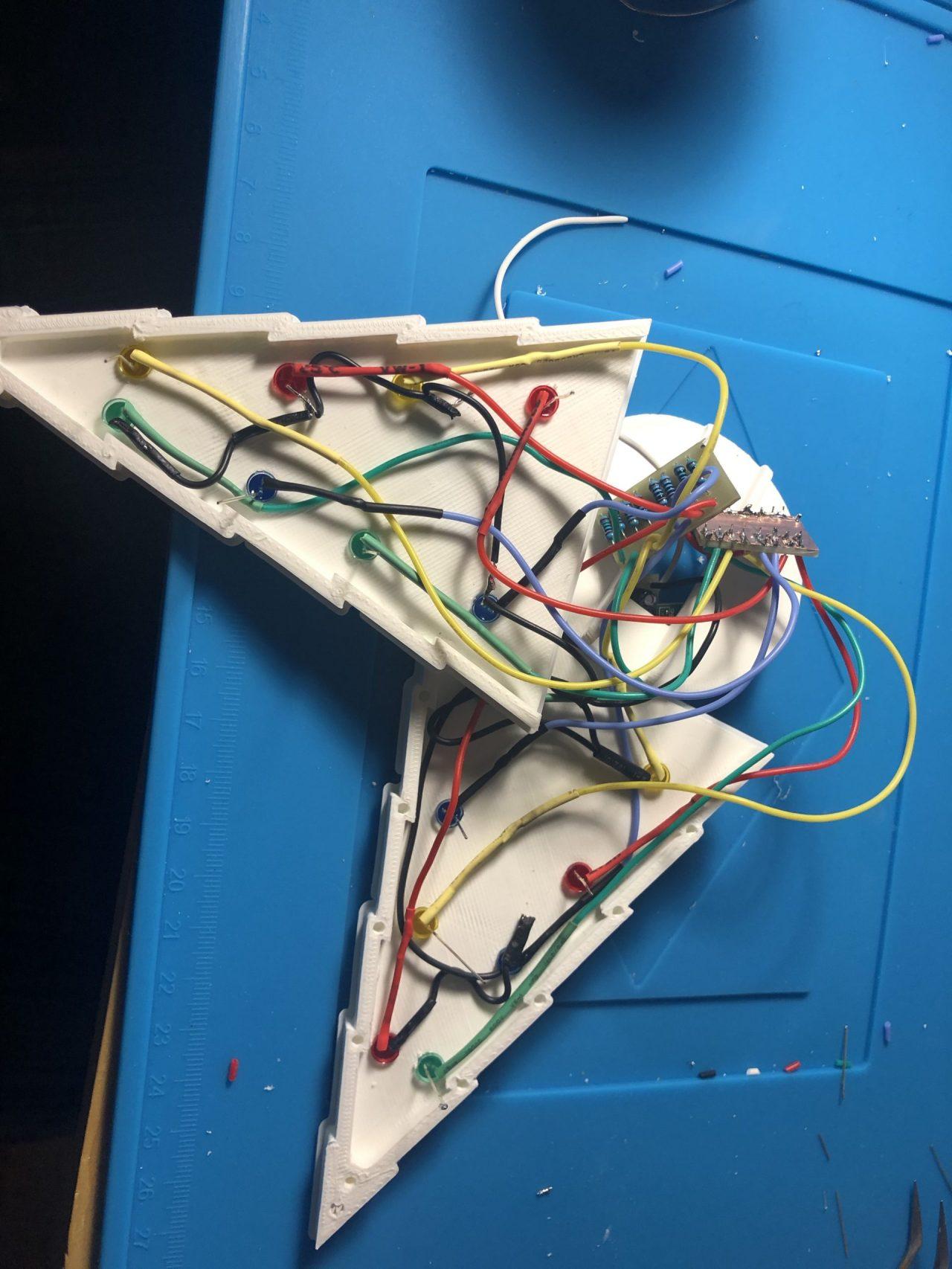 Assemblage des LEDs