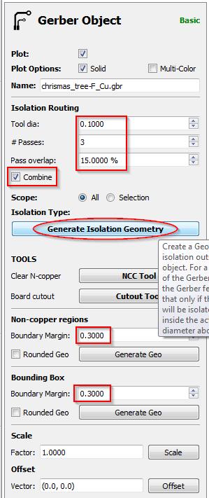 Configuration du Gerber du contrôleur