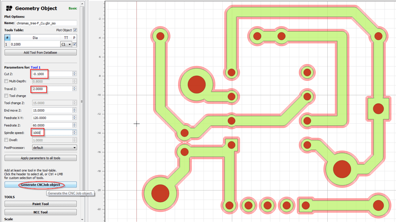 Configuration du Milling pour le contrôleur