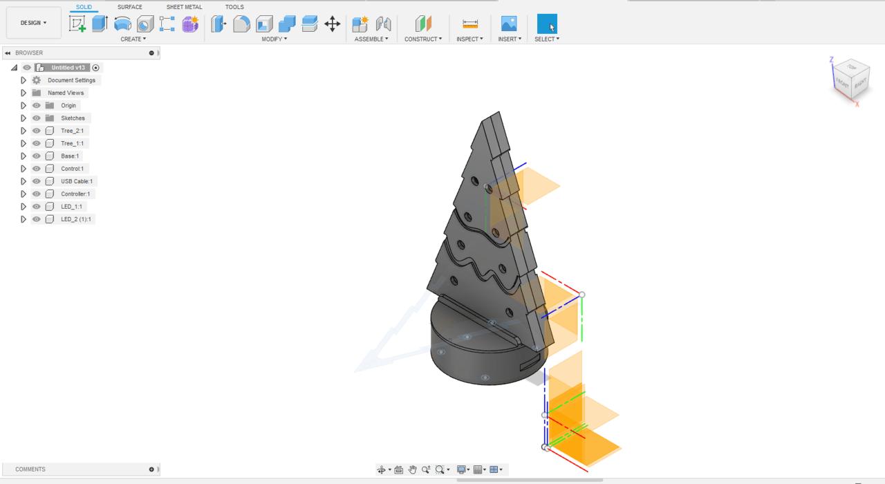 Modèle 3D Fusion 360