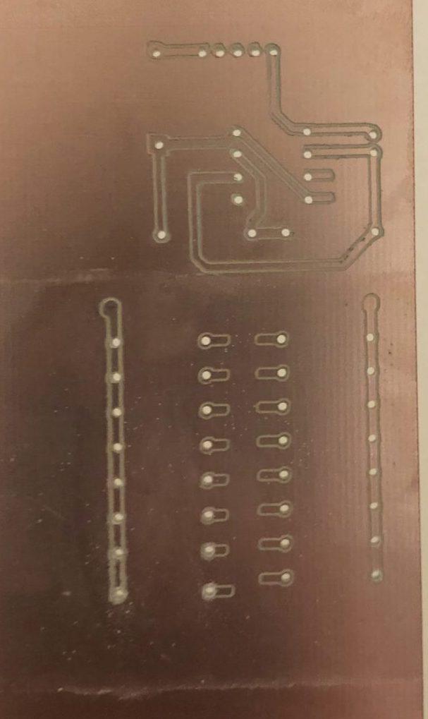 Résultat des trois modules PCB
