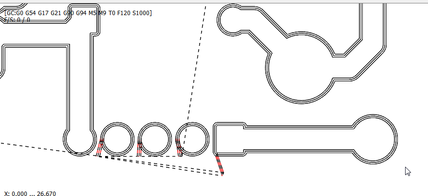 PCB Triple ligne